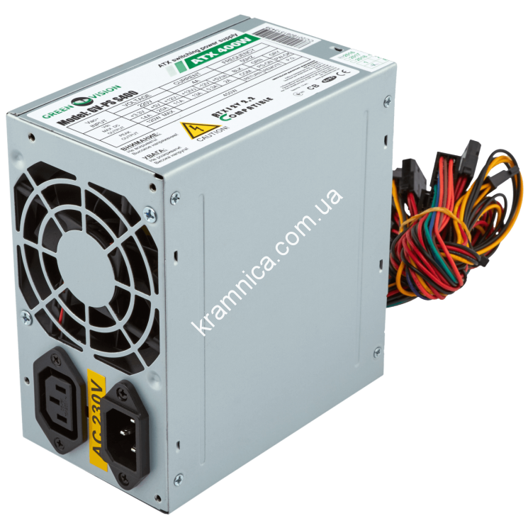Блок питания 400W GV-PS ATX S400/8 (LP3462) GreenVision