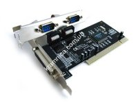 Контроллер PCI Combo Parallel+Serial-PCI (LPT+Com) 2s+1p (7805)
