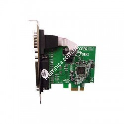 Контроллер PCI-E PARALLEL+Serial (COM+LPT) PCI-E (16082)
