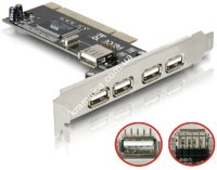 Контроллер PCI-USB 4+1port, NEC (7803)