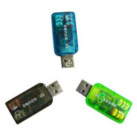 Контроллер USB-sound card (5.1) 3D sound (7807)