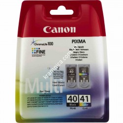 Картридж Canon PG-40Bk/ CL-41/ PG-37Bk/ CL-38 для Canon Pixma MP210/ IP1800/ MX310 (2145B005/ 2146B005/ 0615B025/ 0617B025/ 0615B043)