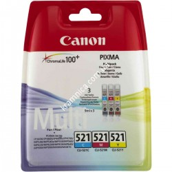 Картридж Canon PGI-520Bk/ CLI-521 для Canon iP4700/ MP560/ MP640 (2932B004/ 2933B004/ 2934B004/ 2935B004/ 2936B004/ 2937B004/ 2937B001/ 2934B010)