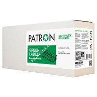 Картридж для HP Pro M401 Black (PN-80AGL) PATRON GREEN Label (Аналог CF280A)