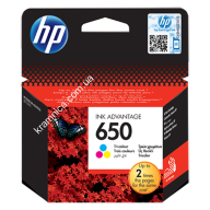 Заправка струйного картриджа HP №650 (Color) (HP Deskjet Ink Advantage 1015/1515 AiO/2515 AiO/2545 AiO/2645 e-AiO/3515 e-AiO/4645 e-AiO)